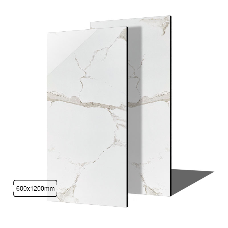 Latest Design Luxury <strong>Non</strong> <strong>Slip</strong> Bathroom Ceramic Wall 600x1200 Glazed Marble Calacatta <strong>Porcelain</strong> <strong>Floor</strong> <strong>Tile</strong> In Foshan China