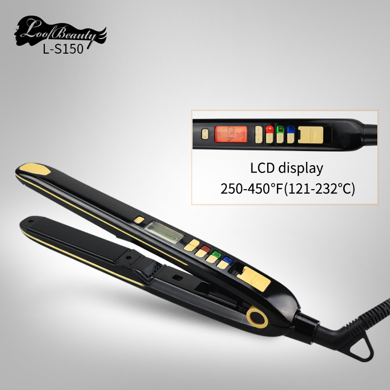 Ceramic Hair Straightener Tools DODO L-S150 Multi-Function 450f  Hair Straightener