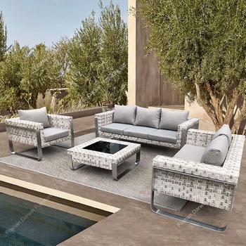 Manufacturer Rattan Wicker Sofa