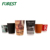 Disposable custom color take away ripple wall paper coffee cup