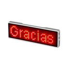 Hot selling Programmable Small LED Display Screen Electronic LED Name Badge