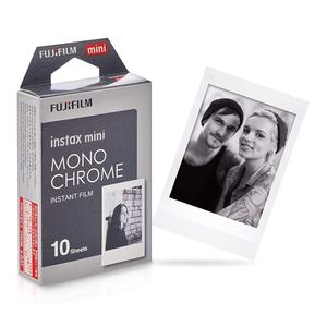 Fujifilm instax mini Mono Chrome instant film for Fuji instax mini 90 8 7s camera SP-1 printer photo size 8.6*5.4cm
