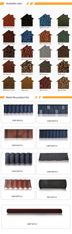 Standaard Size Cement Dakbedekking Platen Metaal Steen Gecoate Slate Dak Tegels/Asfalt Aluminium Zink Dakbedekking Shingles Prijzen