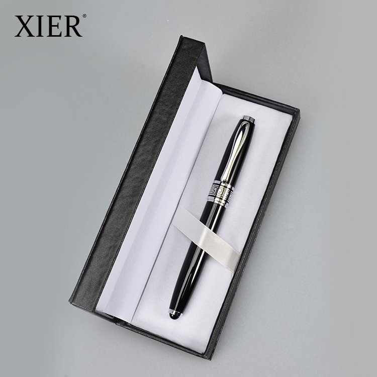 High Quality Professional New design custom printed logo Customized Promotional Cheap metal Pen Gift Set