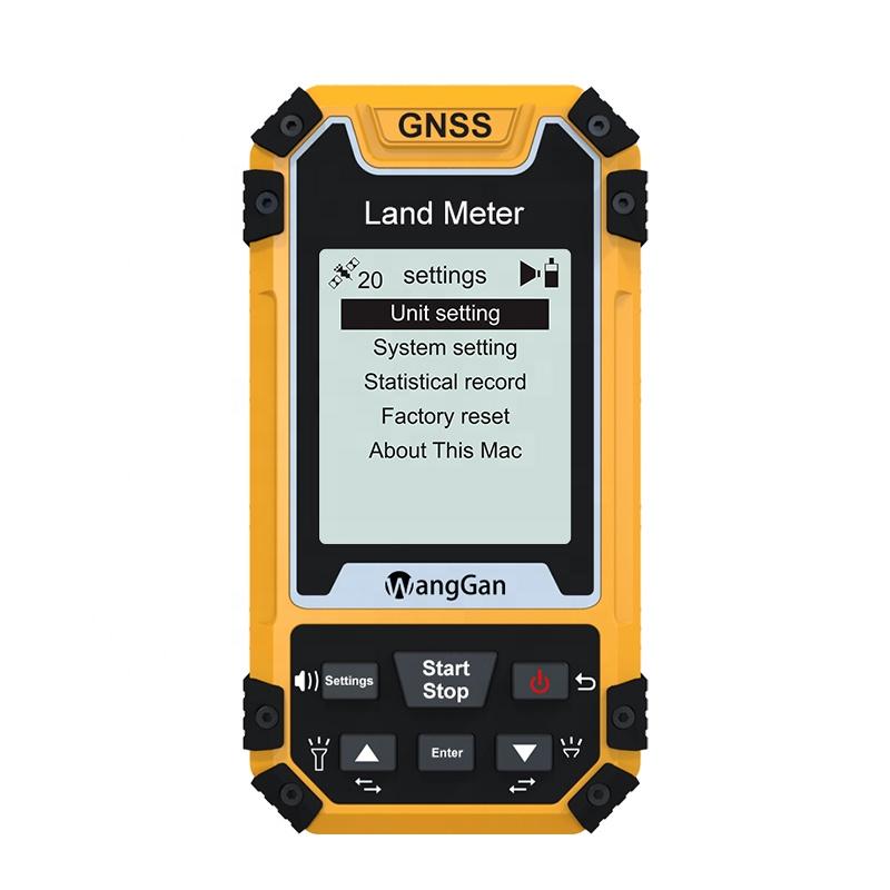 WangGan S1 Accuracy GPS Agriculture Land Measurement portable GPS land meter acreage calculator