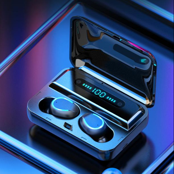 F9-5 TWS Wireless Earphone 8D Bass Stereo In-ear Earbuds Handsfree Headset With Microphone Charging Case