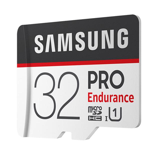 SAMSUNG Memory Card 128GB 64GB 32GB Micro TF SD PRO Endurance 100MBs SDXC SDHC C10 UHS-I Trans Flash Microsd