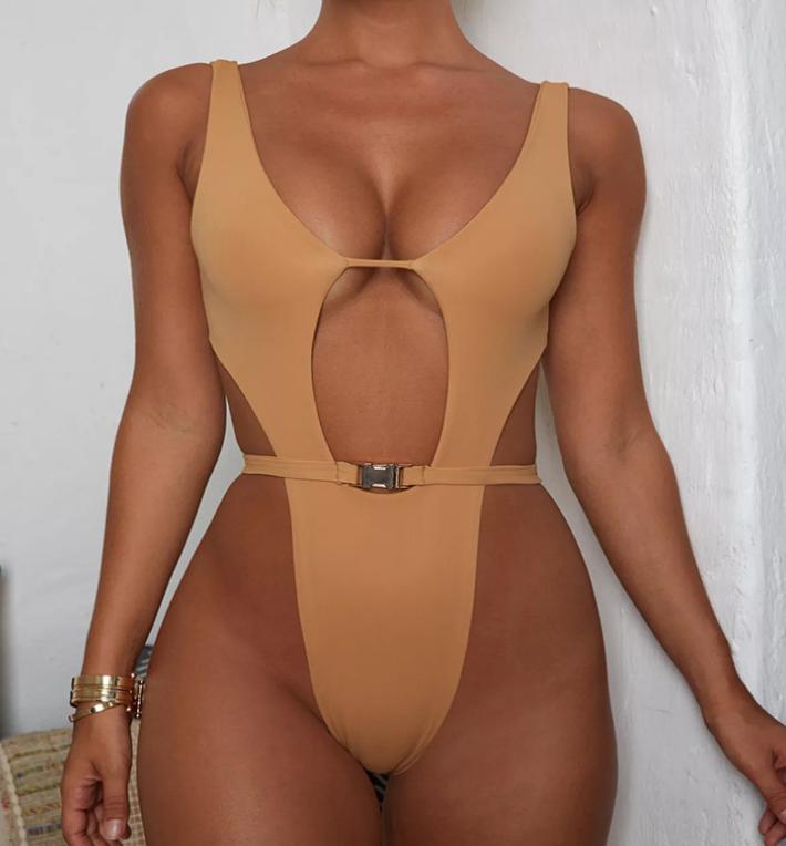 Private label Sexy einem Stück frauen Bademode heißer verkauf badeanzug