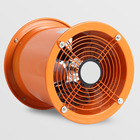 Manufacturing Plant [ Ventilation Fan Axial Flow Marine Machine ] 12 Inches Industrial Ventilation Fan Hand-Held Portable Axial Flow Fan 220V 550W Industrial Marine Mobile Ventilation Machine