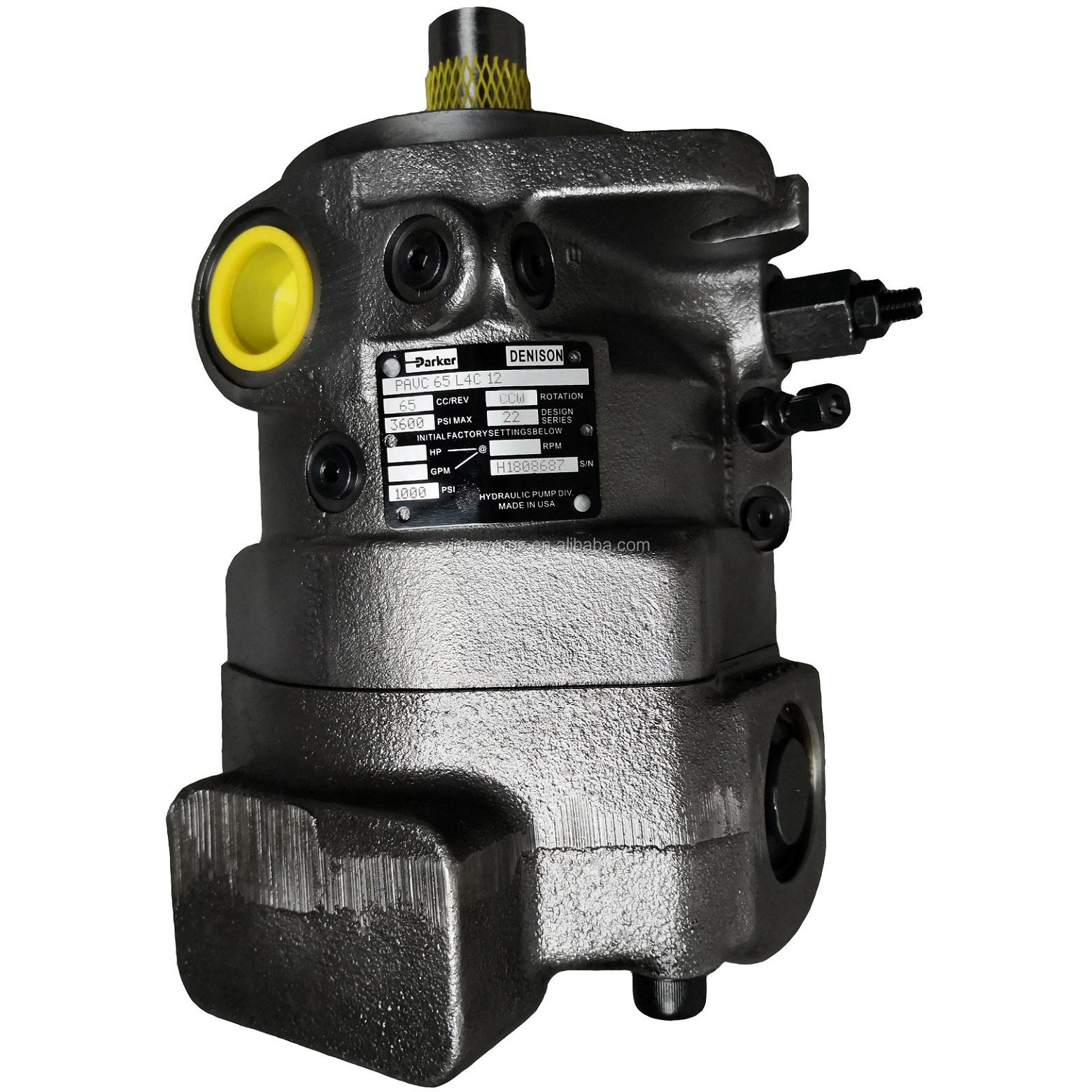 Hydraulic variable piston PAVC33 PAVC38 PAVC65 PAVC100 Denison Parker PAVC pump