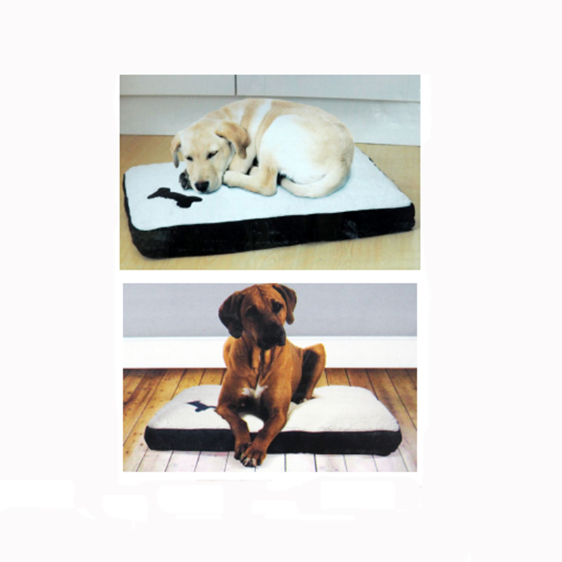 anti slip removable rectangle portable dogs cats luxury memory foam elevated cushion mattress pet bed orthopedic