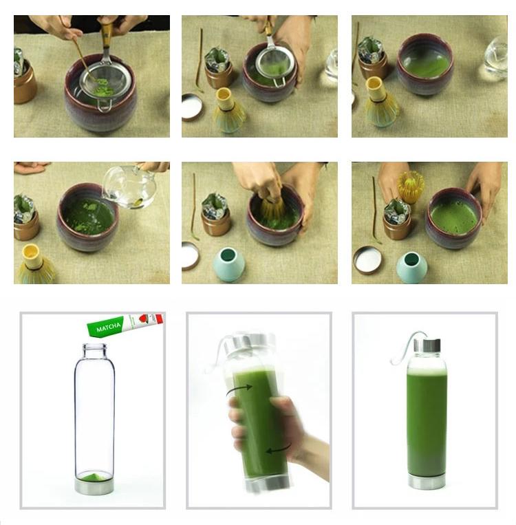 Dropshipping Kagoshima White Vanilla Uji Jade Leaf Fda Approved Ceremonial Drink Diet Organic Matcha Green Tea Powder for Baking - 4uTea | 4uTea.com