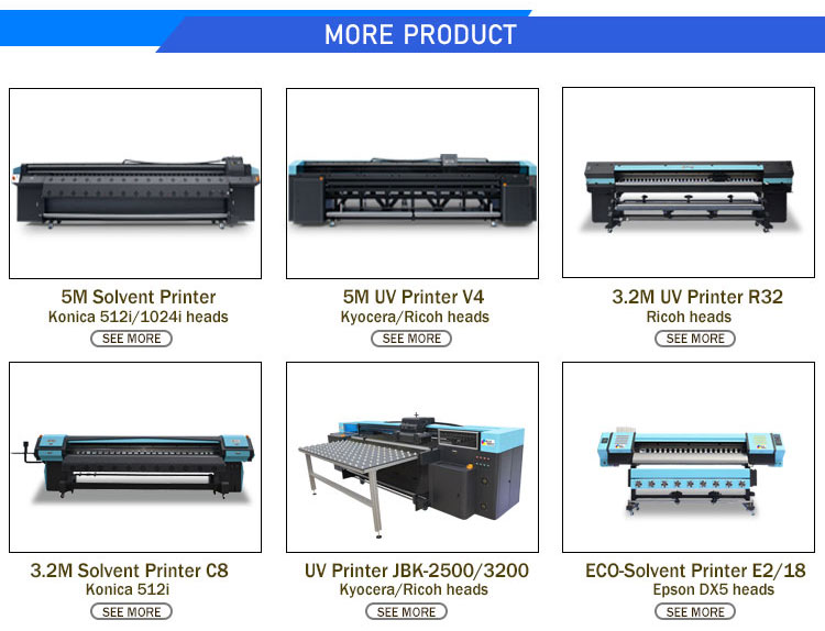 Hohe Auflösung Große Format 3,2 m UV Flagge Film Drucker Poster