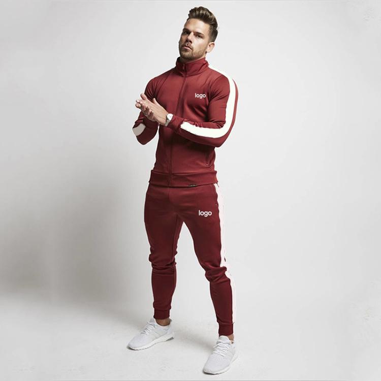 Wholesale Training Gym Track Suits Custom Mens Jogging Tracksuit