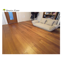 Click lock Osmo Natural Oiled Burma teak wooden flooring