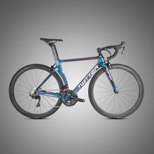 Holografische Kleur Frame SHlMANO <span class=keywords><strong>105</strong></span> R7000 Compleet <span class=keywords><strong>Groepset</strong></span> 22-Speed Carbon Racefiets (005)