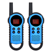 Outdoor game gift 3-5km multi channel handheld mini UHF pmr 446 walkie talkies for kids