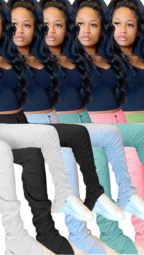 Mallas de cintura alta para mujer, leggings de yoga apilables, pantalones de entrenamiento, para correr, color blanco, 2xl