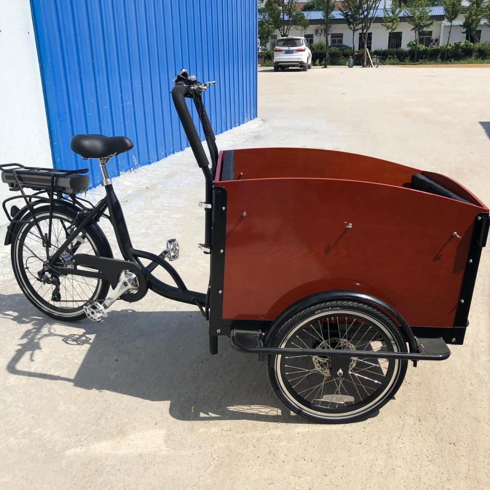 Dutch Sepeda Kargo Sepeda Cargobike Elektrik