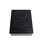 Elegance and customized build-in home appliances 2 burner electric cooktop induction cooker Induction hob