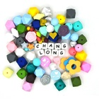 Third Party Appraisal [ Beads ] Beads Silicone China Manufacturer Letter Beads 6X6 10Mm Beads Silicone Alphabet Beads