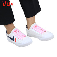 Multi Size No Need to Tie Lazy Laces Arrow Shape Silicone Reflective Easy Install Elastic Durable Fluorescent Shoelaces