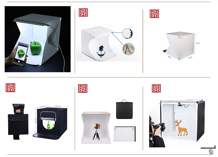 Caja de luz de flash portátil para estudio fotográfico