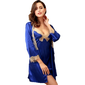 plus size women sexy lace bride robe for wedding party