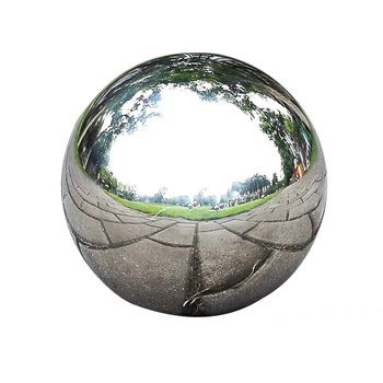 "180mm mirrored spheres 2mm thickness 7"" 7inch stainless steel hollow ball"