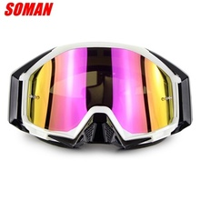 SOMAN Professionele Motorsport Off Road Goggle <span class=keywords><strong>Motocross</strong></span> <span class=keywords><strong>Dirt</strong></span> <span class=keywords><strong>Bike</strong></span> MX Bril SM13