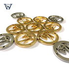 Custom High Quality Gold Metal Button For Garment