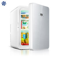 Wholesale Promotional 10l Frost Free Mini Refrigerator for Office Home small led display breast milk mini bar fridge