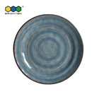 Strong Anti-Stain Ability and EU regulation approved Melamine 11 inch Dinner Plate eco-friendly products for promotion