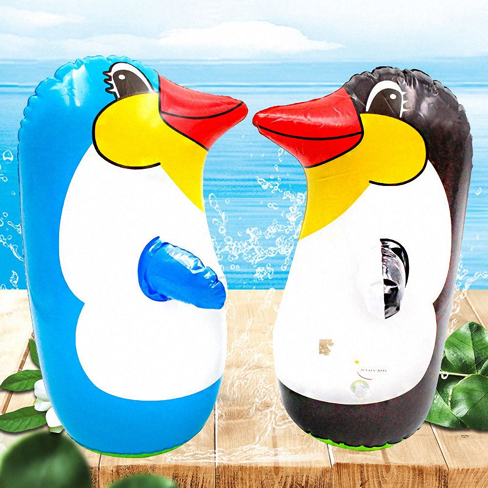 Inflatable Penguin Toy Penguin Tumbler Children Pinguino Inflatable Toys