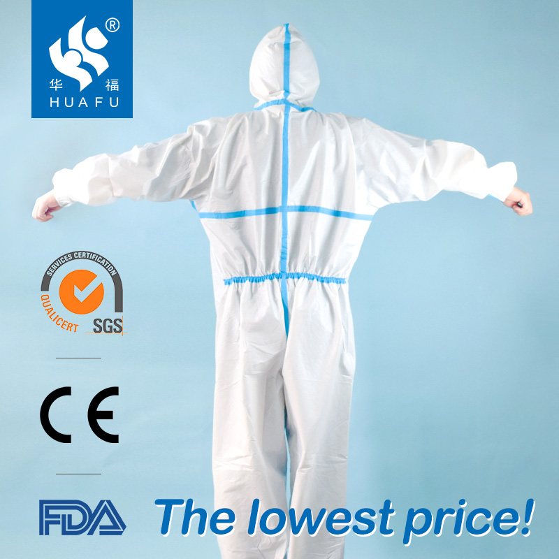 Best selling sterile surgical gowns aami level3 sterile surgical gowns standard surgical disposable gown ppe suit