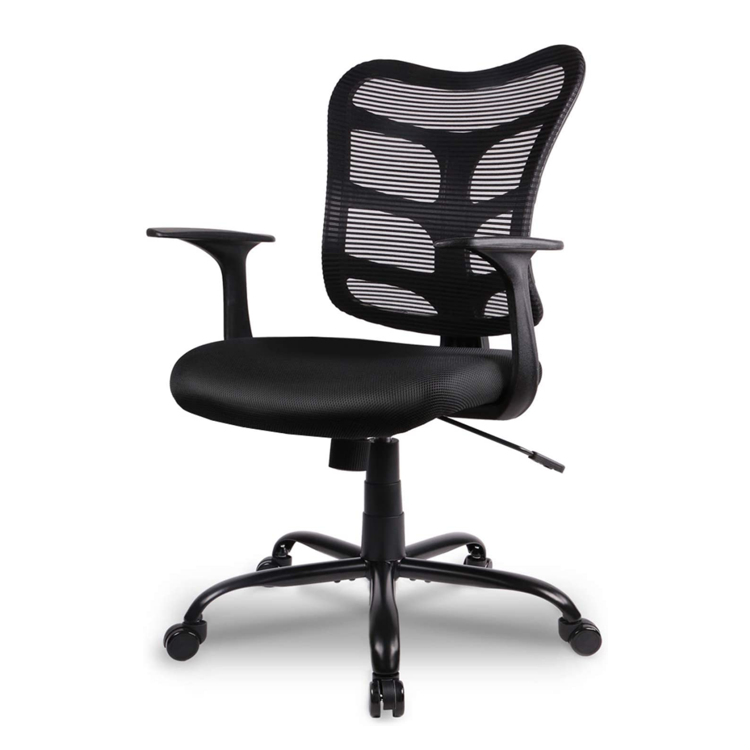 Amazon best selling USA Stock  Mesh Fabric Staff Conference Chair Swivel mesh office chairs