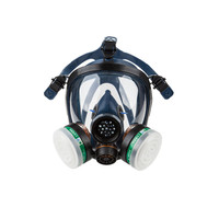 Respiratory Protection Full Facepiece Silicone Reusable Respirator