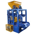 brick making machinery small cement brick maker machine price list in China