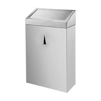 30L stainless steel toilet wall mount waste bin