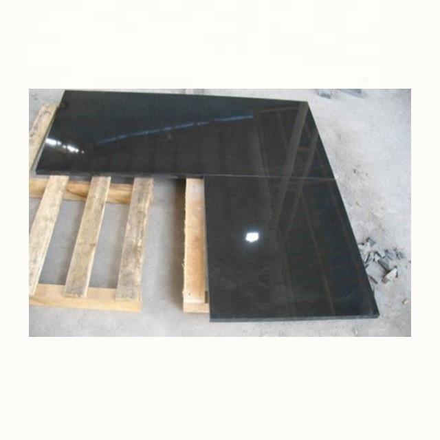 Prefab पत्थर रसोई चीन काले ग्रेनाइट countertop