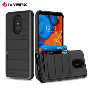 IVYMAX 2019 Newest Mobile Accessories Phone Case With Card Pocket For LG Stylo 5