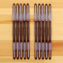 Зажимы для переплета с 2 отверстиями, 10 шт., пластиковые зажимы для рассыпчатых листов, цветные бумажные крепежные детали формата А4, папка дл...(Китай)