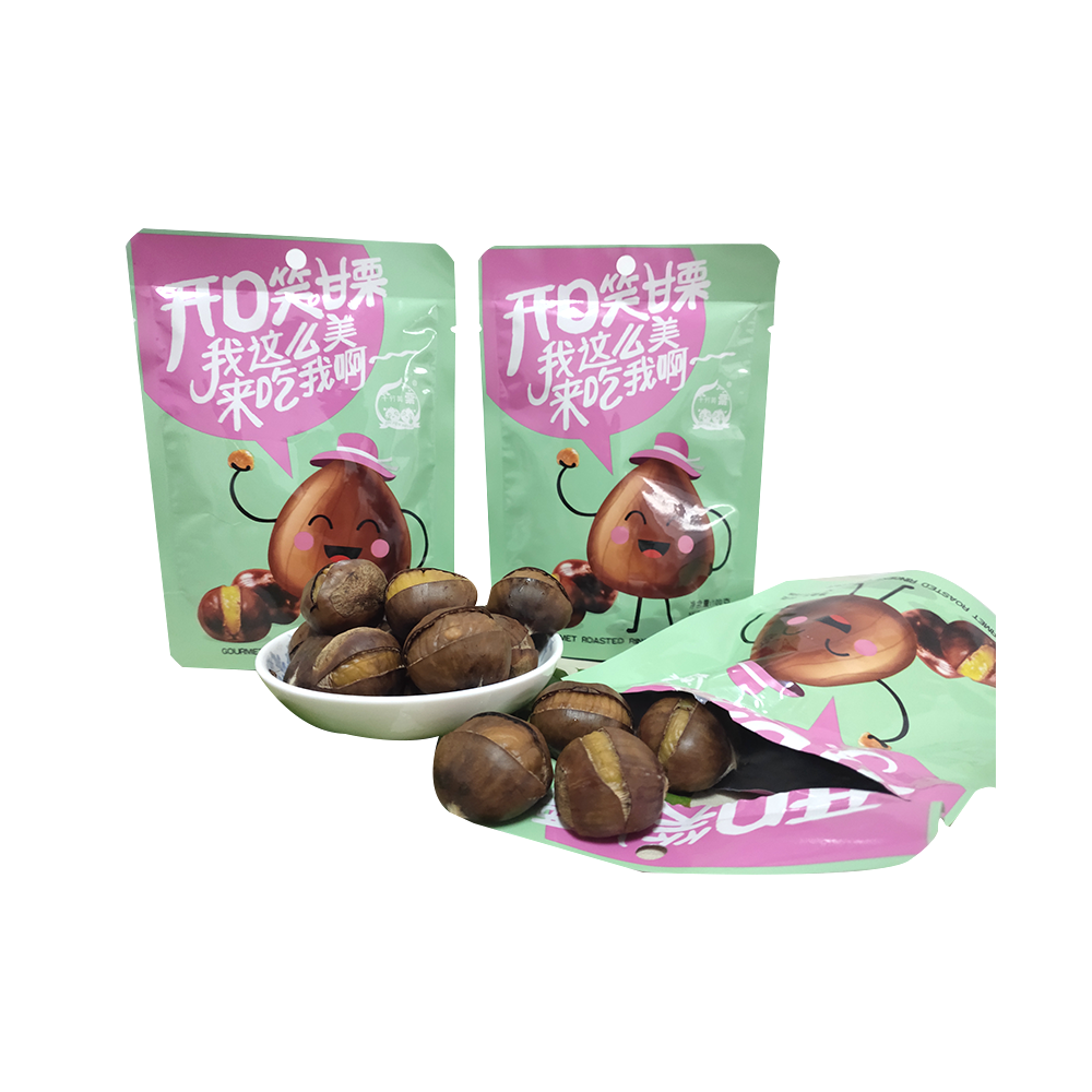 Hot selling 100g chestnut snacks in bags chestnut snacks in bags