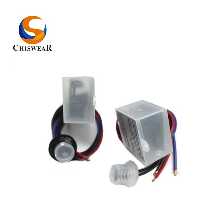 12V Photocell Auto Light Control Sensor for Outdoor Lighting Control