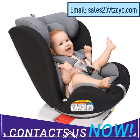 Direct Manufacturer ECE R44/04 Isofix 360 Degree Rotate 0-36Kgs Safety Baby Car Seat