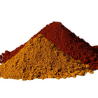 Brown Universal Grade Iron Oxide Red/ Yellow/ Black/ Orange/ Brown And Compound Green For Wholesales