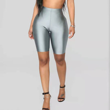 Groothandel Custom Mode Gym <span class=keywords><strong>Spandex</strong></span> Solid Womens Neon Biker <span class=keywords><strong>Shorts</strong></span>
