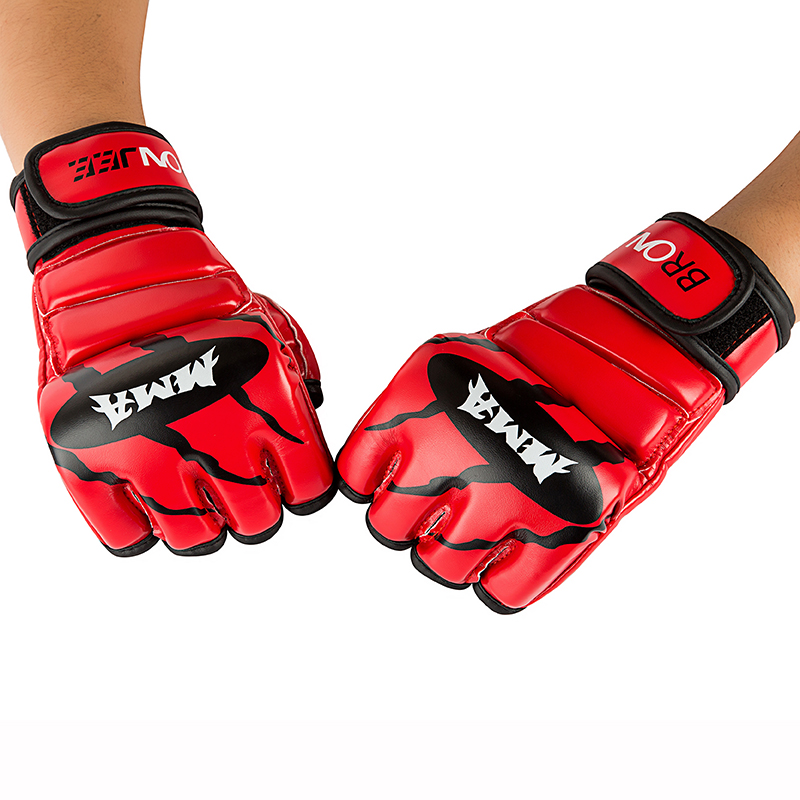 personaziled Adults MMA snake Sanda grappling gloves thumb protector mma Muay Thai fight gloves