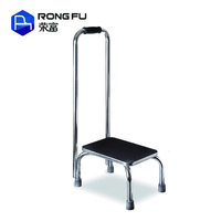 Stainless Steel Ladder Footstool Stepping Stool for Elderly
