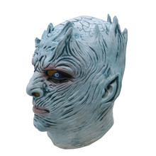 Game of Thrones Noite Rei Masquerade <span class=keywords><strong>halloween</strong></span> assustador máscara de látex realista